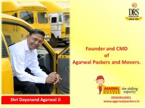 Founder and CMD of Agarwal Packers and Movers - DRS Group