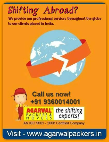 Agarwal Packers and Movers Abroad Shiftin