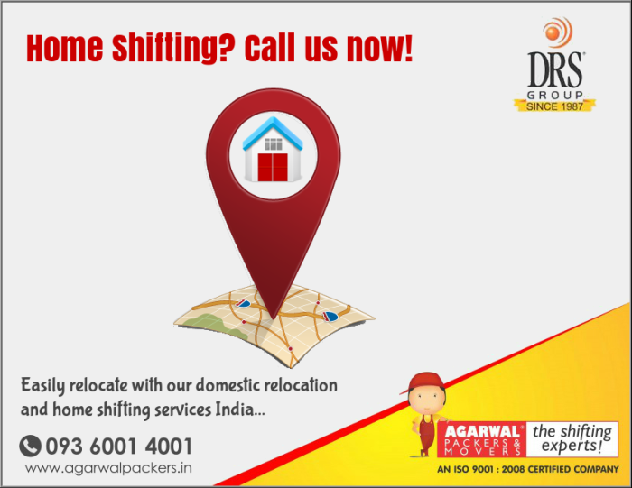 Domestic Relocation and home shifting | Relocation| agarwalpackers.in