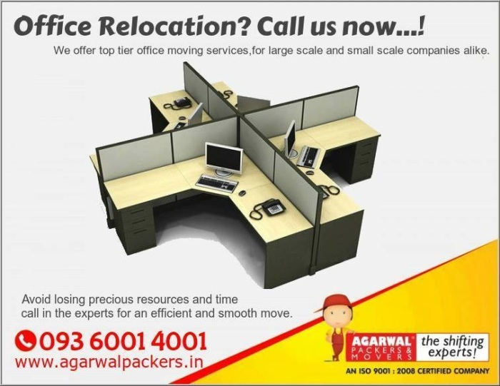 Agarwal Packers and Movers In India. Office Relocation Call us Now..!