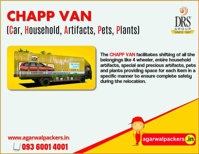 ''Agarwal Packers and Movers - Chapp Van - Packers and Movers Hyderabad''